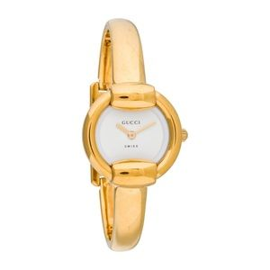 GUCCI 1400L Gold Stainless Steel Bracelet Watch